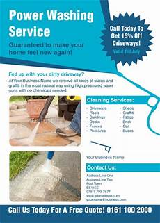 Cleaning Leaflet Template Online Print Templates Printing Com Uk