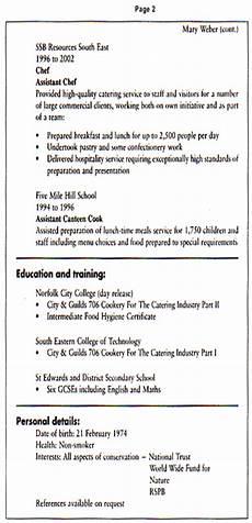 Example Of Curriculum Vitae For Job Application Job Application Letter And Curriculum Vitae