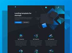 3d Website Design Templates Solid Free Html Template Featuring 3d Illustrations
