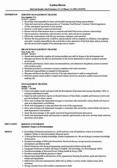 Management Trainee Cover Letter Samples Sample Cover Letter For Management Trainee Fresh Graduate