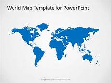 World Map Template Powerpoint 00004 01 World Map 2 Free Powerpoint Templates