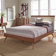 homesullivan holbrook chestnut platform bed 401915nf