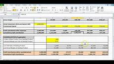 Excel Forecasting Template How To Use The Atar Forecasting Excel Template Youtube