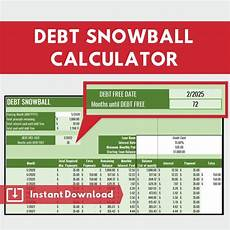 Debt Snowball Calculator Debt Snowball Calculator Dave Ramsey Budget Automatically