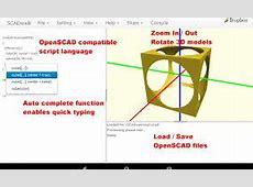 OpenSCAD for Chromebook   Best Chromebook Apps