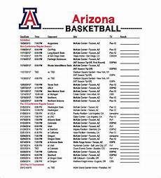 Basketball Schedule Maker 13 Basketball Schedule Templates Amp Samples Doc Pdf