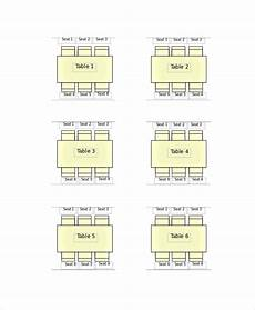 Sample Seating Charts Free 13 Sample Seating Chart Templates In Illustrator