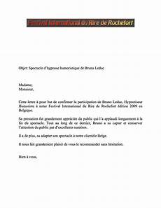 Lettre De Reference Example Letter Of Application Lettre De Reference Client
