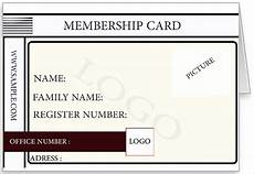 Membership Card Template Publisher 25 Membership Card Templates Word Psd Ai Publisher