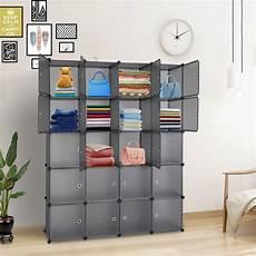 20 cube organizer stackable plastic cube storage shelves