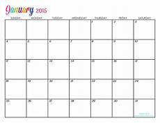 Printable Customized Calendars Custom Editable Free Printable 2015 Calendars Titus