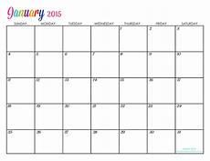 Editable Calander Custom Editable Free Printable 2015 Calendars Titus