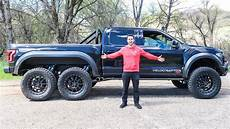 2019 ford velociraptor price the hennessey velociraptor 6x6 costs 350 000 and it s