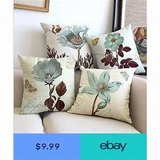 Sofa Pillow Covers 24x24 Png Image by Decorative Pillow Covers Lotus Flower Cotton Linen Square