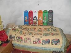Skateboard Headboard I Just Made A Skateboard Headboard For My
