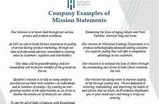 Mission Statement Sample Mission Statement Examples His Way At Work