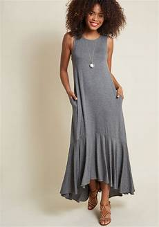 fearlessly flowy knit maxi dress modcloth