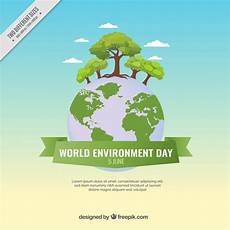 World Environment Day Chart Beautiful World Environment Day Background Vector