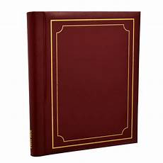 Red Photo Albums Red Large Self Adhesive Photo Albums Spiral Bound 20