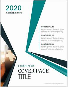Paper Cover Page Template 5 Best Business Report Cover Page Templates For Ms Word