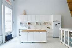 8 Exles Of Kitchens With Movable Islands That Make It 8 Exles Of Kitchens With Movable Islands That Make It
