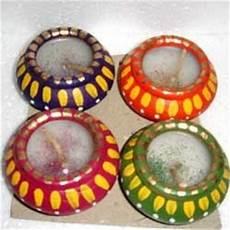 Designer Diyas Multicolored Designer Diyas Shree Balaji Industries
