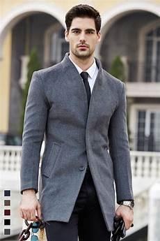 stylish coats for greys 2020 shanghai story mens wool trench coat fashion