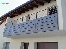 terrazzi con ringhiera parapetto per terrazze in ferro e acciaio inox erk 233 ly