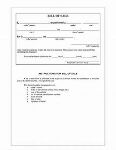 Example Of A Vehicle Bill Of Sale Picture 5 Of 17 Example Bill Of Sale Form Photo