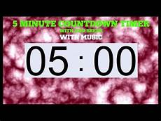 5 Minute Timer 5 Minute Timer End Beeps And Music Youtube