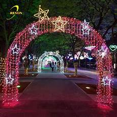Arch Lights Christmas Street Decorative Outdoor Led Arch Lights Led 3d