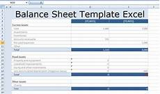Sample Excel Balance Sheet Balance Sheet Template Excel Free Excel Spreadsheet
