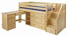 low loft bed with stairs steps maxtrixonline