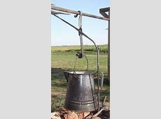 Muller Lane Farm ~ Hand Forged Items trammel hook to use