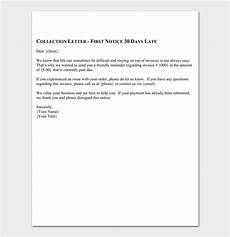 Collection Letter Samples Templates Collection Letter Template 10 Samples Amp Examples