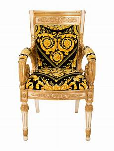 Versace Chair Versace Barocco Armchair Furniture Ves28970 The Realreal