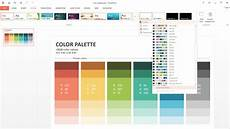 Powerpoint Custom Background How To Customize Powerpoint Color Palette Slideson
