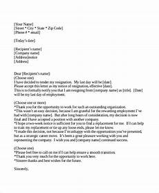Two Weeks Notice Letter Examples 10 Two Weeks Notice Letter Examples Google Docs Ms