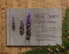 rustic lavender bridal invitations bridal shower rustic lavender bridal invitations bridal shower