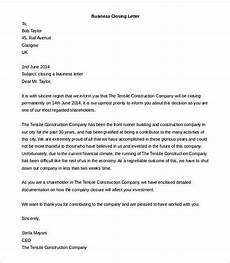 Template For Business Letter Business Letter Format