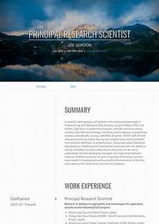 Scientist Resume Templates Research Scientist Resume Samples And Templates Visualcv
