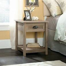 small narrow side table accent unique rustic bedside end