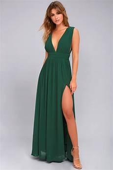 forest green gown maxi dress sleeveless maxi dress