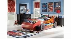 Disney Cars Bedroom Set Disney Cars Lightning Mcqueen Black 8 Pc Bedroom