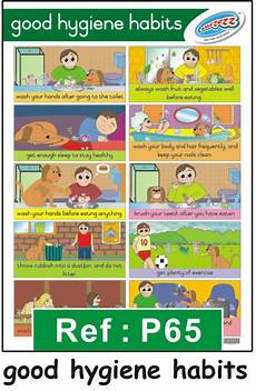 Good Habits Chart For School Educational Posters And Wall Charts For The Classroom
