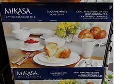 Mikasa Lucerne Bone China Dinnerware Set