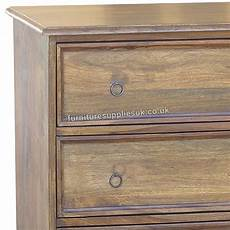 Jali Solid Sheesham Indian Rosewood Nest Of 3 Tablessolid by Jali 3 Drawer Flat Chest Of Drawers Sheesham