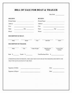 Free Printable Bill Of Sale Form Free Printable Camper Bill Of Sale Form Free Form Generic