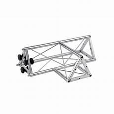 tralicci per traliccio triangolare a t 3 canali femmina in acciaio