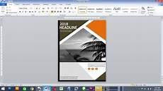 Create A Cover Page How To Make Book Cover Page In Ms Word Youtube